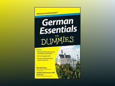 German Essentials For Dummies av Foster