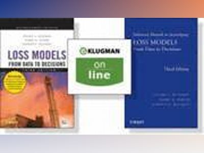 Loss Models: From Data to Decisions, 3rd Edition + Solutions Manual + (One av Stuart A. Klugman