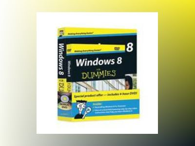 Windows 8 For Dummies Book + DVD Bundle av Andy Rathbone