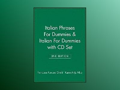 Italian Phrases For Dummies Italian For Dummies, 2 nd Edition with CD Set av . Onofri