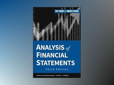 Analysis of Financial Statements av CFA
