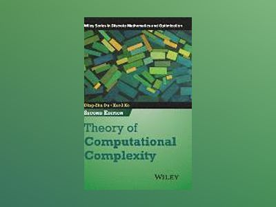 Theory of Computational Complexity, 2nd Edition av Ding-Zhu Du