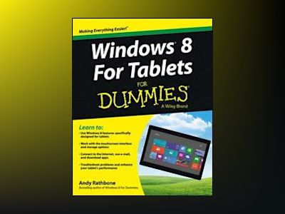 Windows 8 For Tablets For Dummies av RATHBONE
