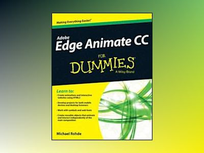 Adobe Edge Animate For Dummies av Michael Rohde