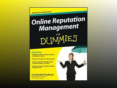 Online Reputation Management For Dummies av L. Stradtman