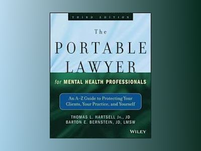 The Portable Lawyer for Mental Health Professionals av LMSW JD