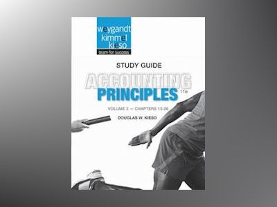 Accounting Principles, Study Guide Volume II , 11th Edition av Jerry J. Weygandt