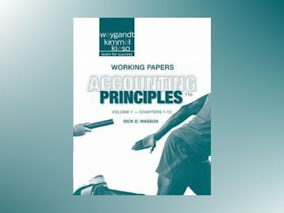 Accounting Principles, Working Papers, Volume 1 , 10th Edition av Jerry J. Weygandt