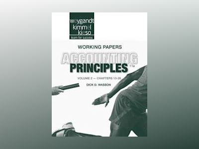 Accounting Principles, Working Papers Volume II , 11th Edition av Jerry J. Weygandt
