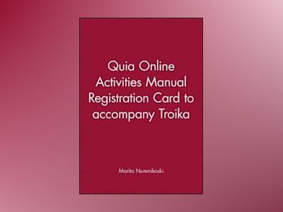 Quia Online Activities Manual Registration Card t/a Troika av Marita Nummikoski