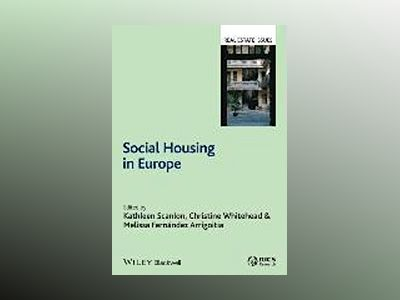 Social Housing in Europe av Kathleen Scanlon
