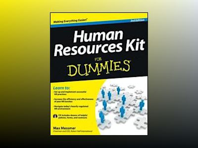 Human Resources Kit For Dummies, 3rd Edition av Max Messmer