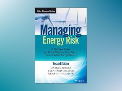 Managing Energy Risk: An Integrated View on Power and Other Energy Markets, av Markus Burger