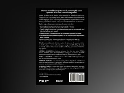 Competence in the Law: From Legal Theory to Clinical Application av Michael L. Perlin