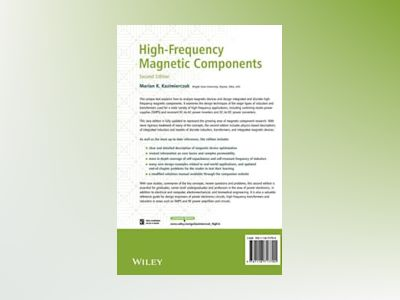 High-Frequency Magnetic Components, 2nd Edition av Marian K. Kazimierczuk