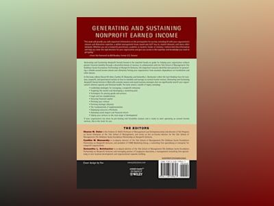 Generating and Sustaining Nonprofit Earned Income: A Guide to Successful En av Sharon M. Oster