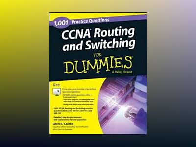 1,001 CCNA Routing and Switching Practice Questions For Dummies av Glen E. Clarke