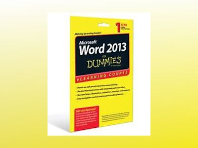 Word 2013 For Dummies eLearning Course Access Code Card (12 Month Subscript av Faithe Wempen