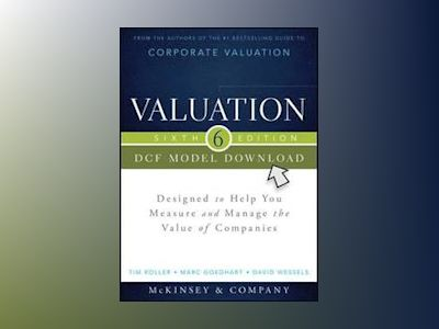 Valuation DCF Model, Flatpack: Designed to Help You Measure and Manage the av McKinsey