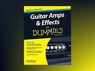 Guitar Amps and Effects For Dummies av Dave Hunter