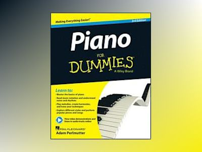 Piano For Dummies, 3rd Edition av Hal Leonard Corp.