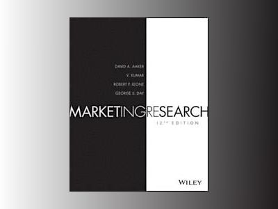 Marketing Research, 12th Edition av David A. Aaker