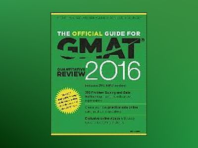 The Official Guide for GMAT Quantitative Review 2016 with Online Question B av GMAC
