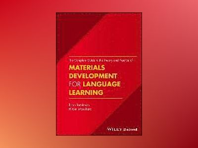 A Complete Guide to Materials Development for Language Learning av Brian Tomlinson