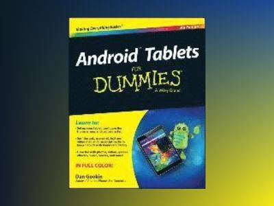 Android Tablets For Dummies, 3rd Edition av Dan Gookin