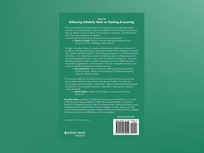 Enhancing Scholarly Work on Teaching and Learning: Professional Literature av Maryellen Weimer