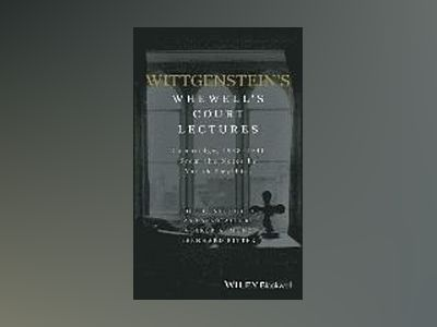 Wittgenstein's Whewell's Court Lectures: Cambridge, 1938 - 1941, From the N av Volker Munz