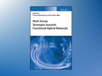 Main Group Strategies for Functional Hybrid Materials av Thomas Baumgartner