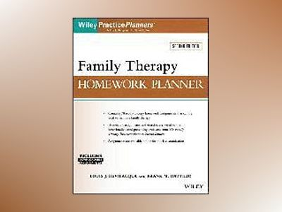 Family Therapy Homework Planner, 2nd Edition av Louis J. Bevilacqua