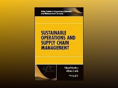 Sustainable Operations and Supply Chain Management av Valeria Belvedere