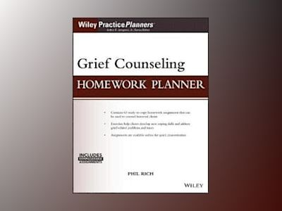 Grief Counseling Homework Planner, (with Download) av Phil Rich