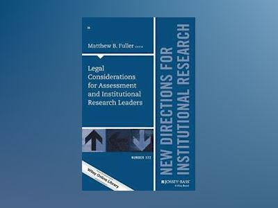 Legal Considerations for Assessment and Institutional Research Leaders, IR av IR