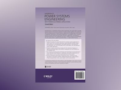 Handbook of Power Systems Engineering with Power Electronics Applications, av Yoshihide Hase