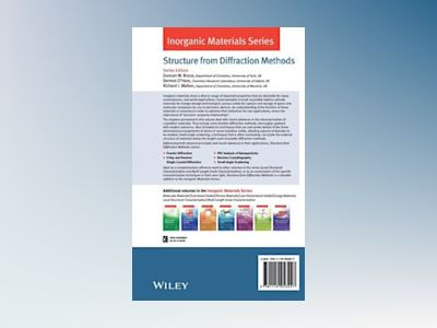 Structure from Diffraction Methods: Inorganic Materials Series av Duncan W. Bruce