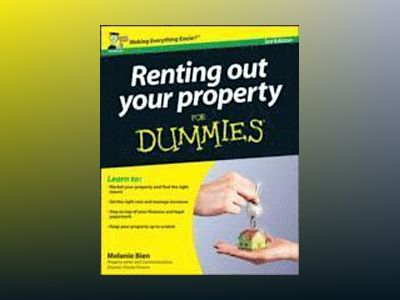 Renting Out Your Property For Dummies, 3rd Edition av Melanie Bien