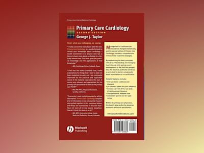 Primary Care Cardiology, 2nd Edition av George J. Taylor