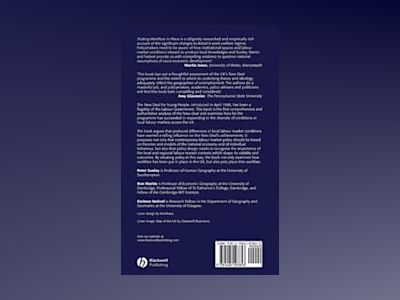 Putting Workfare in Place: Local Labour Markets and the New Deal av Peter Sunley