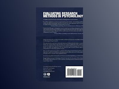 Evaluating Research Methods in Psychology: A Case Study Approach av George Dunbar