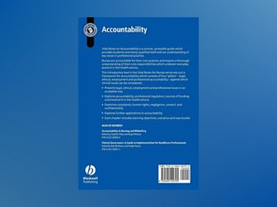 Vital Notes for Nurses: Accountability av Helen Caulfield
