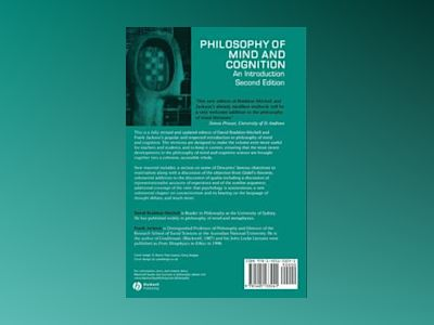 Philosophy of Mind and Cognition: An Introduction, 2nd Edition av David Braddon-Mitchell