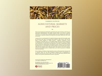 Agricultural Markets and Prices av Darren Hudson