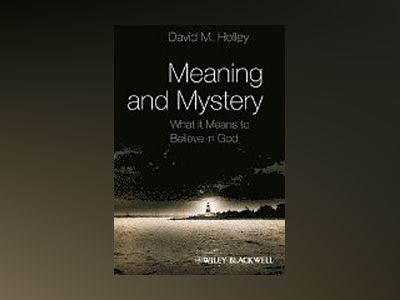 Meaning and Mystery: What It Means To Believe in God av David M. Holley