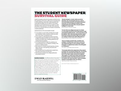 The Student Newspaper Survival Guide, 2nd Edition av Rachele Kanigel