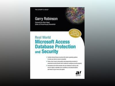 Real World Microsoft Access Database Protection and Security av Garry Robinson