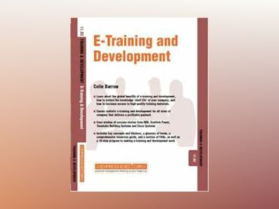 e-Training and Development- Training and Development av Colin Barrow