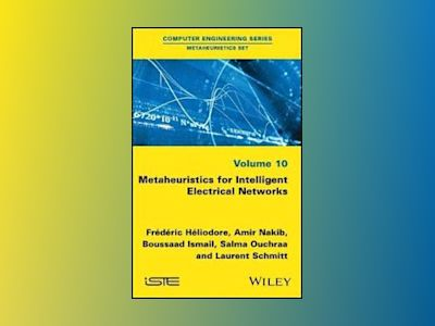 Metaheuristics for Intelligent Electrical Networks av Frederic Heliodore